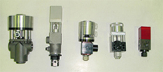 Shut off valves, metering valves and auto guns