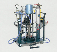2 Components Metering, Mixing and Dispensing system ( main material in a pail container)