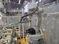 Auto Dispensing Robot and Transfer Conveyer